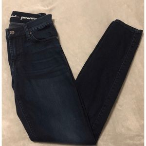 7 FOR ALL MANKIND GWENEVERE SKINNY JEAN 26